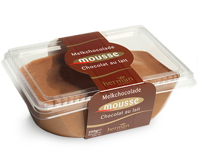 Milk chocolate mousse